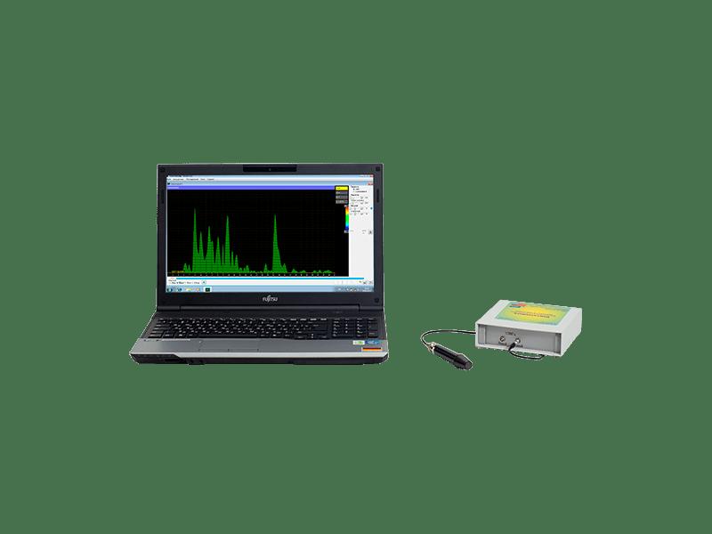 Эхосинускоп Комплексмед исполнение 4.3 с ноутбуком. Сканер ультразвуковой для носовых пазух во внешнем настольном корпусе с ноутбуком.