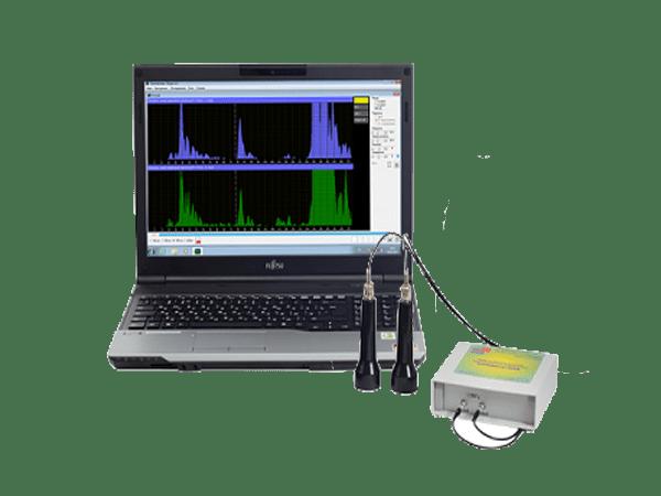 Доплеровский анализатор Комплексмед исполнение 2.3 со смартбуком - Медицинский прибор для допплеровского обследования сосудов во внешнем корпусе со смартбуком.