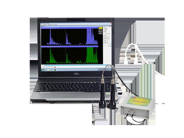 Допплеровский анализатор Комплексмед исполнение 2.3 со смартбуком - Медицинский прибор для допплеровского обследования сосудов во внешнем корпусе со смартбуком.