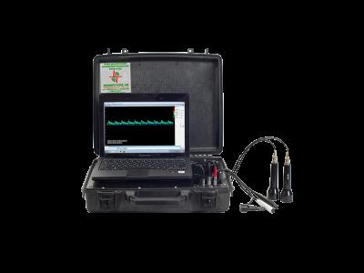Допплер + эхоэнцефалограф Комплексмед исполнение 1.2 - Допплеровский анализатор + двухканальный эхоэнцефалограф переносной (в чемодане).